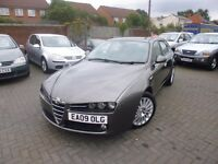 Alfa Romeo 159 SPORTWAGON 1.9 JTDM 16v Lusso 5dr Long Mot, Nationwide Delivery