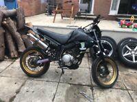 Yamaha xt125x 125cc motorbike dirt bike motocross rm dt cr yx