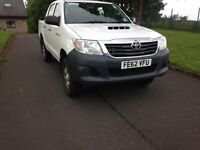2012 TOYOTA HI-LUX HL2 also FOR HIRE