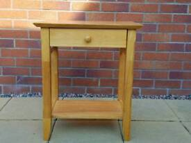 Small hall telephone table