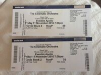 Cinematic Orchestra London Tickets