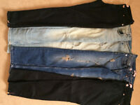 4 Ted Baker jeans, size28, 4pairs like new