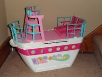 Barbie Doll Cruise Ship Playset