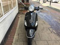 PIAGGIO VESPA LX 50cc black 2012 low mileage hpi clear !!