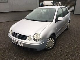 2002 02 VOLKSWAGEN POLO 1.4S 5 DOOR HATCHBACK - *JANUARY 2018 M.O.T*