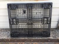 Plastic Pallets - ideal kennel or shed base - 4 available