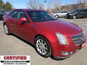 2008 Cadillac CTS 1SA ** HTD/COOL SEATS, ROOF, AUTOSTART **