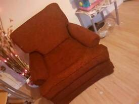 John lewis couch and armchair
