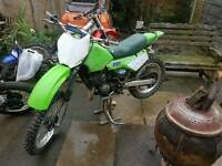 Classic enduro kdx 200 in very good condition