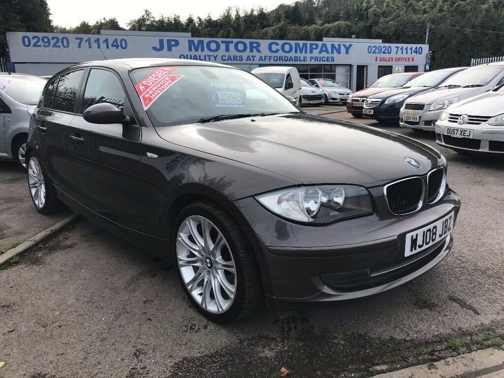 2008 bmw 118d diesel brown bronze 120d 30 road tax 5 door cheap like 320d in penarth. Black Bedroom Furniture Sets. Home Design Ideas