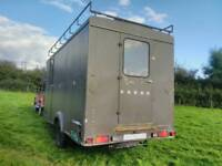 Glamping WW2 Home Guard Trailer, tiny home camper, caravan unfinished project.