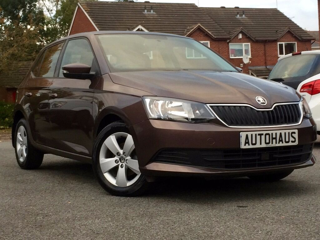 2016 Skoda Fabia 1.4 TDI SE 5dr (start/stop) FREE TAX + LIKE BRAND NEW + BLUETOOTH + CRUISE CONTROL