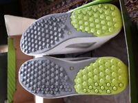 Mens leather golf shoes