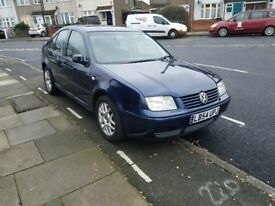 VW Bora Highline 13O TDI 1.9 Blue 2005 54Reg