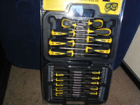 58PC SCREWDRIVER & BITS SET