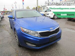 2011 Kia Optima EX | LEATHER | NAV | PANO ROOF | HTD/COOLED SEAT
