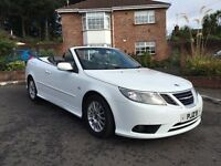 2010 SAAB 93 LINEAR 1.9 TID AUTO ** CONVERTIBLE ** FULL STAMPED SERVICE HISTORY** ALL CARDS ACCEPTED