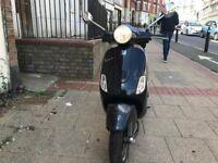 PIAGGIO VESPA LX 125cc Black 2009 excellent runner hpi clear!!