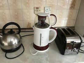kettle toster tea maker