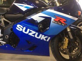 Suzuki gsxr 600 8000 miles may PX