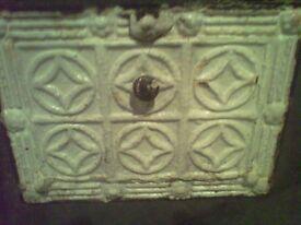 Antique Cast Iron Wall Ventilator ( Bucket Type) Victorian Circa-1900