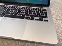 APPLE MACBOOK PRO RETINA 2.8GHZ CORE I7 8GB RAM 128GB SSD WIFI WEBCAM OS X EXCELLENT