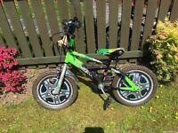 "Boys 14"" Mack bike for sale"