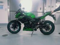 2015 Kawasaki ER 300 ABS Z300 Naked Ninja Streetfighter 8,000 miles, many extras