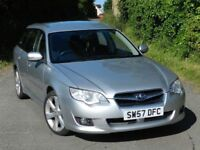 (2007) SUBARU LAGACY ESTATE R 2.0 - SERVICE HISTORY - EXCELLENT TO DRIVE - ALLOYS