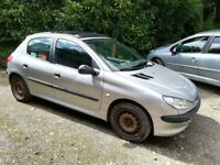 Peugeot, 206, Hatchback, 2000, Manual, 1360 (cc), 5 doors