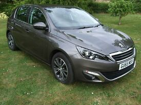 2015 / 65 PEUGEOT 308 BlueHDi 120 ALLURE GREY