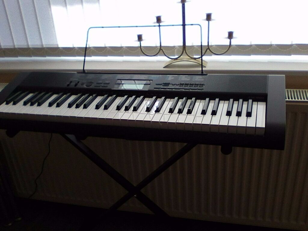 casio ctk 1200 keyboard and stand in huddersfield west yorkshire gumtree. Black Bedroom Furniture Sets. Home Design Ideas