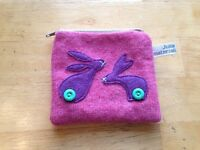 Cute rabbit design purse pink