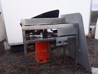 Catering equipment lpg items stainless steel sinks tables fridges lpg Fryers lpg trailers vans