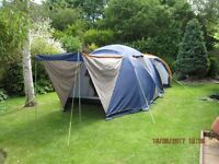 SUNNCAMP MISTRAL Family Camping Tent