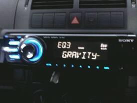 SONY CAR STEREO / CD PLAYER - CDX-GT