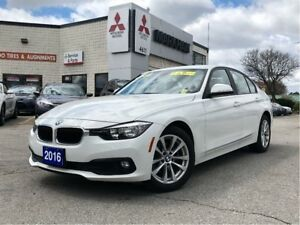 2016 BMW 320i xDrive, 2.0L 4CYL, AT, AWD, Leather