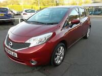 Nissan Note 1.2 DiG-S Tekna 5dr Auto (red) 2014