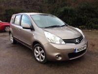 IMPORTANT SAVING ~ 10 REG NISSAN NOTE 1-4 NTEC, 1 LADY OWNER ONLY £1295 P/EX'S, DEBIT/CREDIT CARDS.