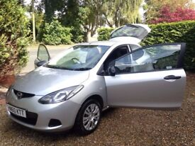 Mazda 2 TS 2010 - Low mileage, service history, 12 month MOT