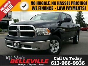 2017 Ram 1500 Hemi -Only $105 Weekly!! 4X4 - Chrome Group - Siri