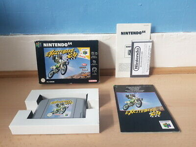 Excitebike 64 N64 Complete VGC