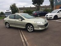 57 PLATE PEUGEOT 407 SE HDI (diesel) -- ONLY DONE 64K - COMES WITH FULL YEAR MOT (no advisory)--