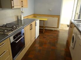 One bed flat with small garden and large garage/workshop