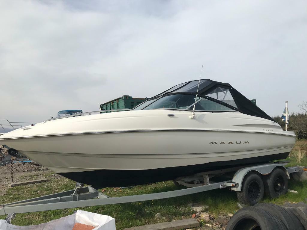 Maxum 2100 sc sports cuddy boat   Bayliner sealine Searay | in Balloch,  West Dunbartonshire | Gumtree