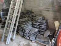 Reclaimed Roof Slates approx 500 - 550 pieces ungraded