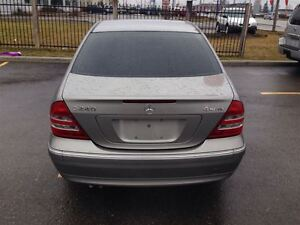 2004 Mercedes-Benz C240 4MATIC SPORTY VERY SMOOTH !!!!!!!!! London Ontario image 4