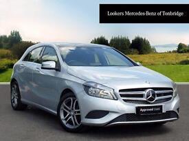 Mercedes-Benz A Class A200 CDI BLUEEFFICIENCY SPORT (silver) 2013-09-01