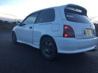 Toyota starlet glanza turbo.