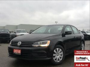 2016 Volkswagen Jetta 1.4 TSI TRENDLINE**BACK UP CAM**BLUETOOTH*